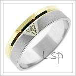 Snubní prsteny LSP 1475