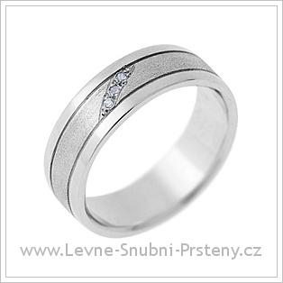 Snubní prsteny LSP 1507 kombinované zlato