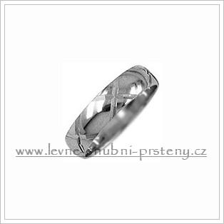 Snubní prsteny LSP 1515b bílé zlato