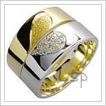 Snubní prsteny LSP 1537 žluté zlato