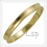 Snubní prsteny LSP 1563