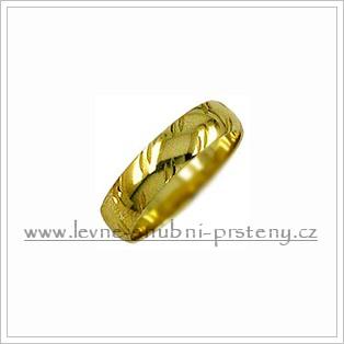 Snubní prsteny LSP 1570 žluté zlato