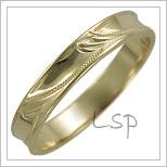 Snubní prsteny LSP 1577