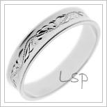 Snubní prsteny LSP 1590b