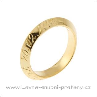 Snubní prsteny LSP 1599