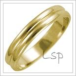 Snubní prsteny LSP 1605