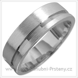 Snubní prsteny LSP 1610 bílé zlato