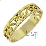 Snubní prsteny LSP 1636