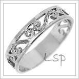 Snubní prsteny LSP 1636b