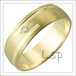 Snubní prsteny LSP 1640