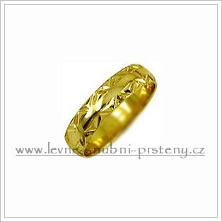Snubní prsteny LSP 1642 žluté zlato