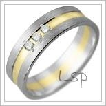 Snubní prsteny LSP 1667