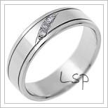 Snubní prsteny LSP 1687