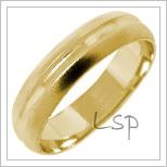 Snubní prsteny LSP 1701