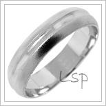 Snubní prsteny LSP 1701b