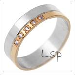 Snubní prsteny LSP 1702