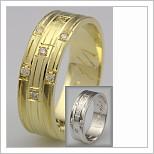 Snubní prsteny LSP 1707