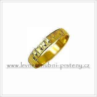 Snubní prsteny LSP 1709 žluté zlato