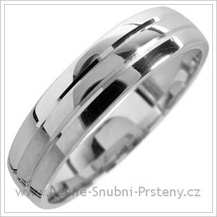 Snubní prsteny LSP 1715 bílé zlato
