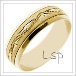 Snubní prsteny LSP 1731
