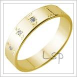 Snubní prsteny LSP 1736
