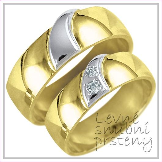 Snubní prsteny LSP 1742