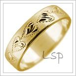 Snubní prsteny LSP 1744