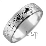 Snubní prsteny LSP 1744b