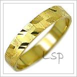 Snubní prsteny LSP 1747 žluté zlato