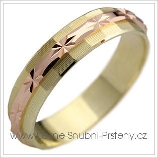 Snubní prsteny LSP 1752