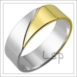 Snubní prsteny LSP 1765