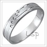 Snubní prsteny LSP 1779