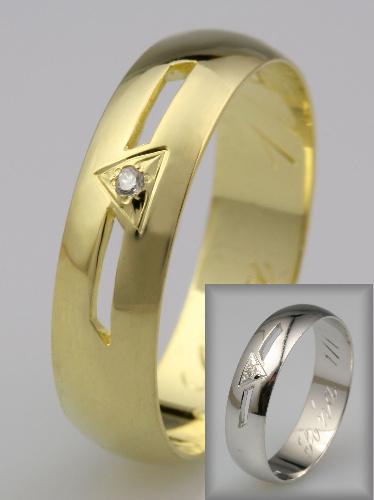 Snubní prsteny LSP 1792