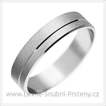 Snubní prsteny LSP 1808 bílé zlato