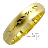 Snubní prsteny LSP 1810 žluté zlato