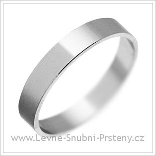 Snubní prsteny LSP 1816 bílé zlato