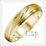 Snubní prsteny LSP 1822