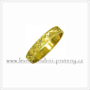 Snubní prsteny LSP 1844 žluté zlato