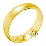 Snubní prsteny LSP 1861 žluté zlato