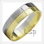 Snubní prsteny LSP 1888k kombinované zlato