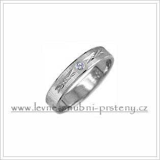 Snubní prsteny LSP 1889bz bílé zlato