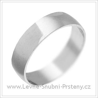 Snubní prsteny LSP 1890 bílé zlato