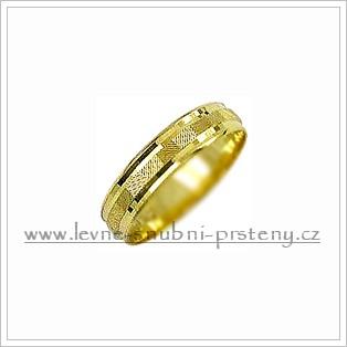 Snubní prsteny LSP 1897 žluté zlato