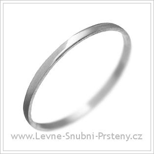 Snubní prsteny LSP 1922 bílé zlato