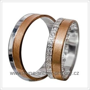 Snubní prsteny LSP 1925 žluté zlato