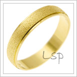 Snubní prsteny LSP 1926 žluté zlato