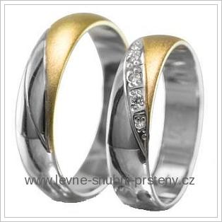 Snubní prsteny LSP 1927 žluté zlato