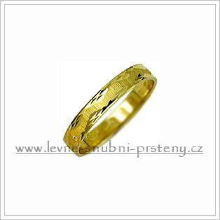 Snubní prsteny LSP 1953 žluté zlato