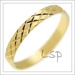 Snubní prsteny LSP 1959 žluté zlato