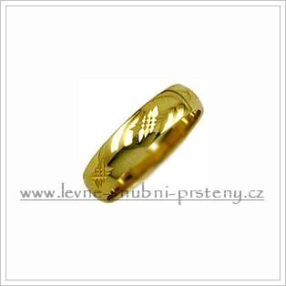 Snubní prsteny LSP 1961 žluté zlato
